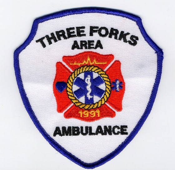 TF Ambulance Patch; Actual size=240 pixels wide